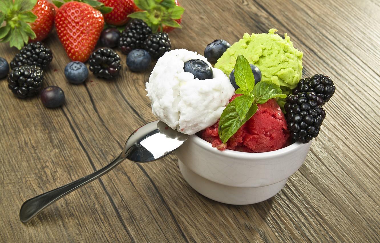 десерт мороженое
