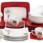 набор столовых тарелок для кухни идеи