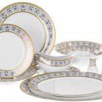 набор столовых тарелок для кухни виды фото