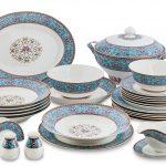 набор столовых тарелок для кухни идеи обзор
