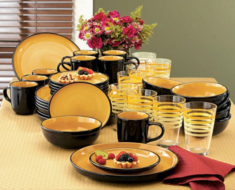 набор столовой посуды