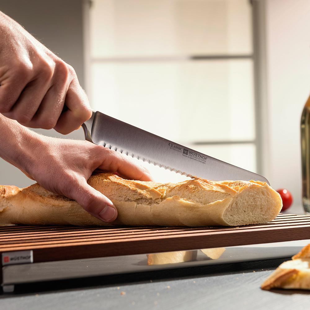 нож кухонный для хлеба