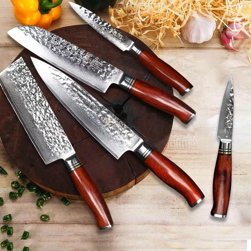 ножи дамасская сталь дизайн фото