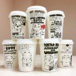 оригинальные кофейные стаканчики декор идеи
