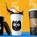 оригинальные кофейные стаканчики идеи декора