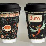 оригинальные кофейные стаканчики фото варианты