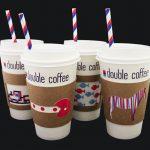 оригинальные кофейные стаканчики варианты идеи