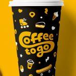 оригинальные кофейные стаканчики дизайн