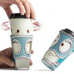 оригинальные кофейные стаканчики виды идеи