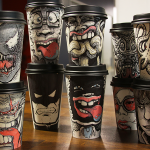 оригинальные кофейные стаканчики фото дизайна