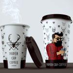 оригинальные кофейные стаканчики виды дизайна