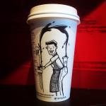 оригинальные кофейные стаканчики идеи дизайн