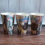 оригинальные кофейные стаканчики декор