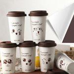 оригинальные кофейные стаканчики фото декор