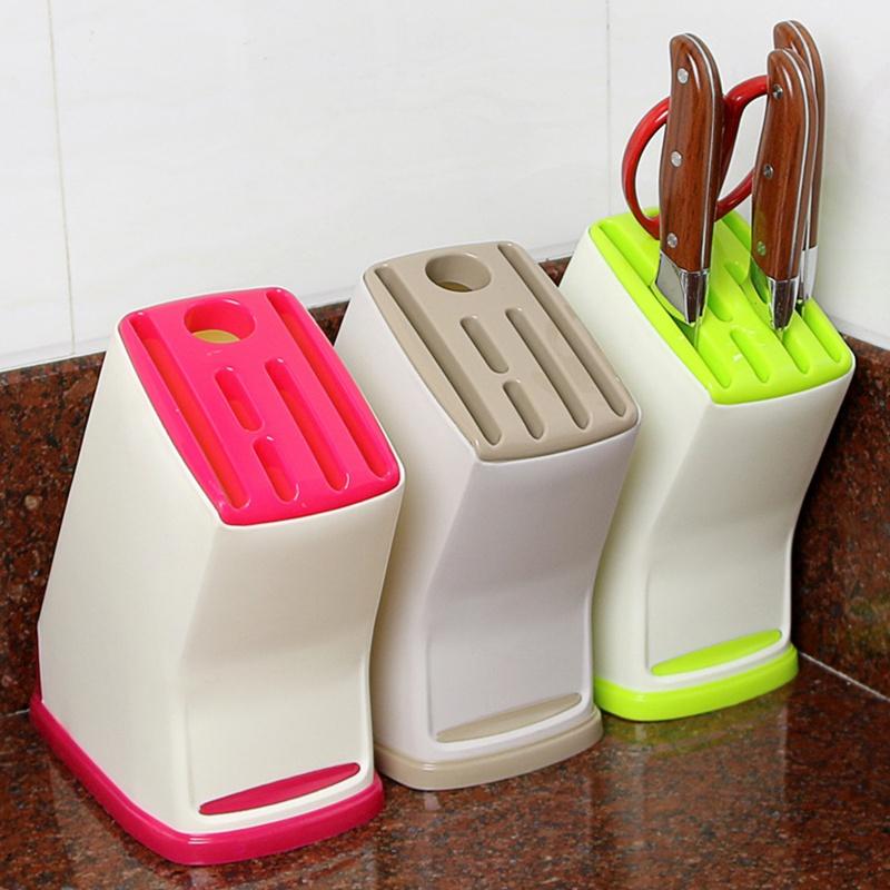 подставка для ножей пластиковая