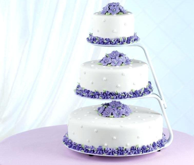 подставка для торта тройная