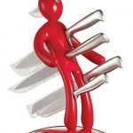 подставки для кухонных ножей декор фото