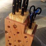 подставки для кухонных ножей идеи видов