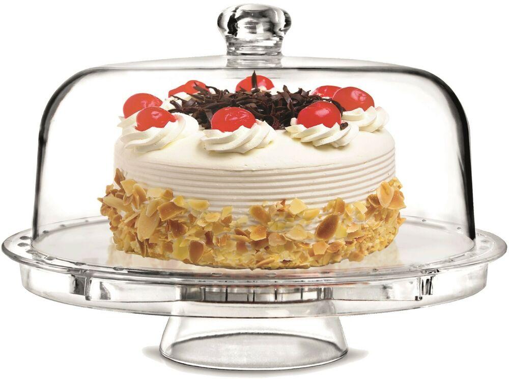 подставка для торта поворотная с крышкой