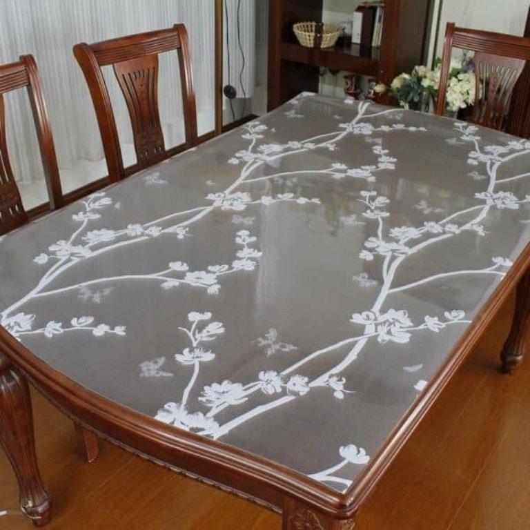 покрытие для стола мягкое стекло идеи
