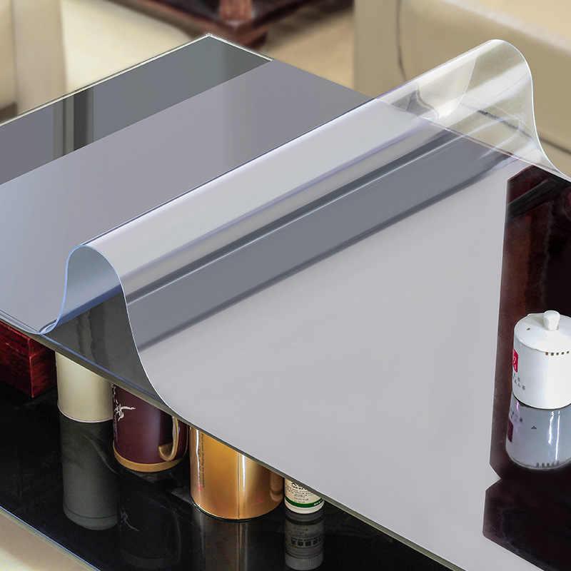 покрытие для стола мягкое стекло на стеклянной столешнице