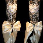 праздничный декор украшение бокалов варианты фото