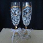 праздничный декор украшение бокалов виды оформления