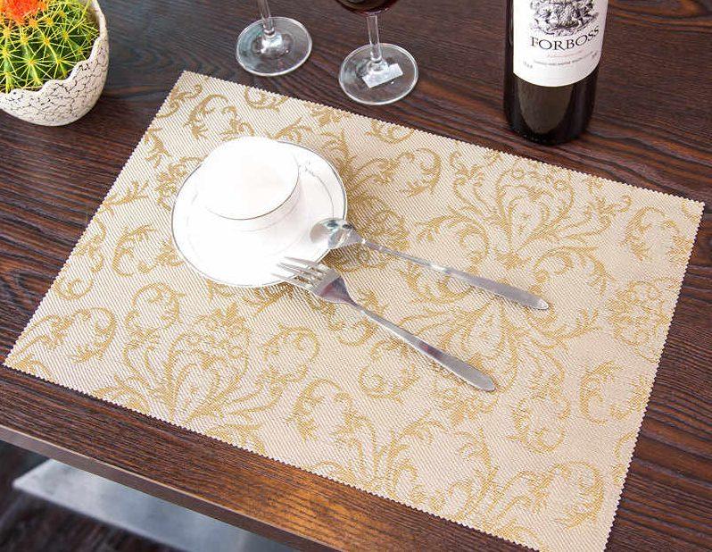 салфетки из пвх под тарелки