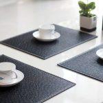сервировочные салфетки коврики для тарелок идеи дизайн