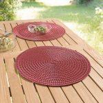сервировочные салфетки коврики для тарелок идеи декор