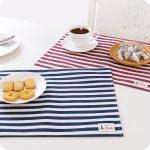 сервировочные салфетки коврики для тарелок оформление фото