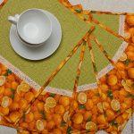 сервировочные салфетки коврики для тарелок оформление идеи