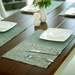 сервировочные салфетки коврики для тарелок идеи оформления