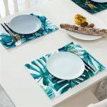 сервировочные салфетки коврики для тарелок варианты фото