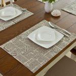 сервировочные салфетки коврики для тарелок варианты идеи