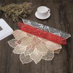сервировочные салфетки коврики для тарелок виды фото