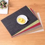 сервировочные салфетки коврики для тарелок фото идеи