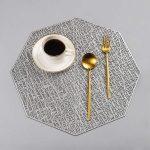 сервировочные салфетки коврики для тарелок идеи обзоры