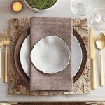 сервировочные салфетки коврики для тарелок виды декора