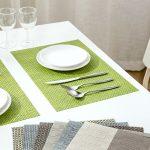 сервировочные салфетки коврики для тарелок виды оформления