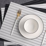 сервировочные салфетки коврики для тарелок дизайн идеи