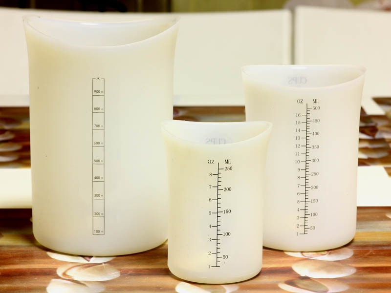 силиконовые мерные стаканы