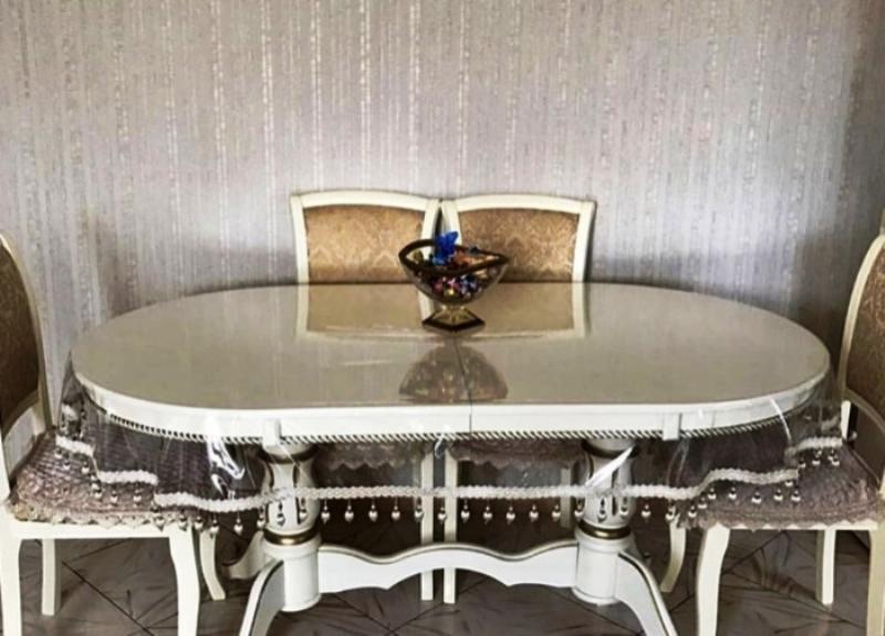 скатерть для кухонного стола овальная