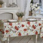 скатерть клеенка на стол для кухни фото оформление
