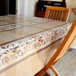 скатерть клеенка на стол для кухни виды