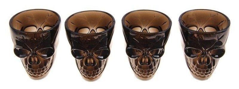 стаканы черепа набор