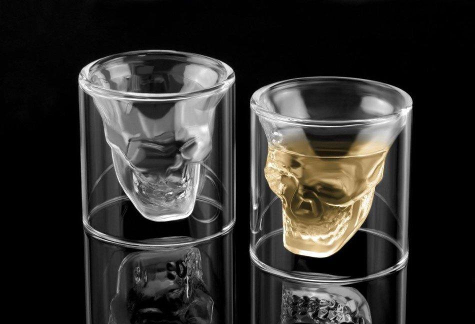 стаканы черепа