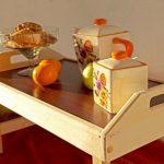 столик для завтрака в постель идеи дизайн