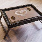 столик для завтрака в постель дизайн идеи