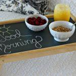 столик для завтрака в постель идеи фото